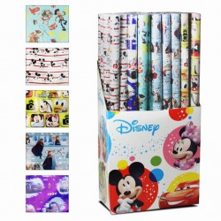 PAPEL DE REGALO DISNEY 200X70CM