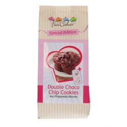 preparado galletas chocolate