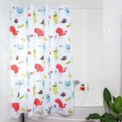 cortina de baño infantil