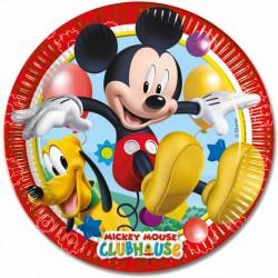 platos mickey mouse
