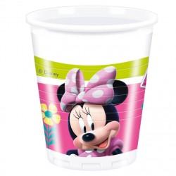 vasos plastico minnie mouse
