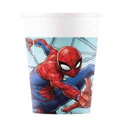 vasos spiderman
