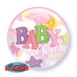 Globo burbuja baby shower