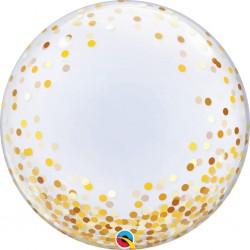 globo burbuja confeti