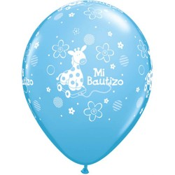 globos bautizo