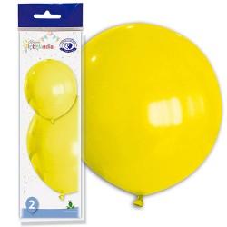 globos gigantes amarillos