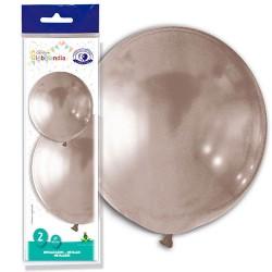 globos gigantes plata