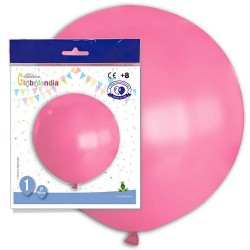 globo gigante rosa