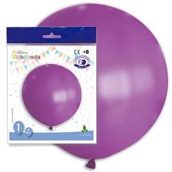 globo gigante violeta