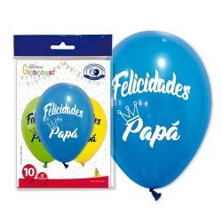globos felicidades papa