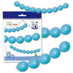 guirnalda globos azules