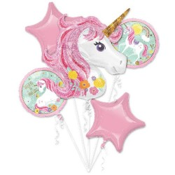 ramo de globos unicornio