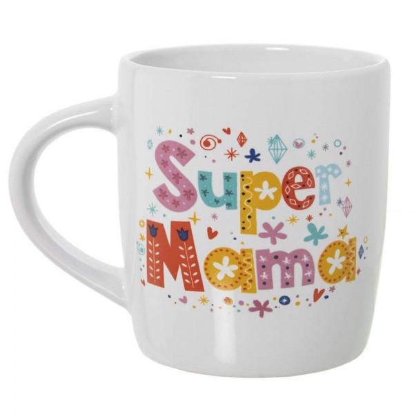 TAZA SUPER MAMA CERAMICA