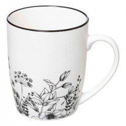 TAZA FLORAL 34CL