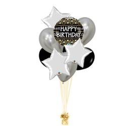 RAMO HAPPY BIRTHDAY +3 ESTRELLAS+ LATEX