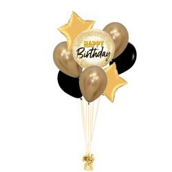 RAMO HAPPY BIRTHDAY + 2 ESTRELLAS +5 LATEX