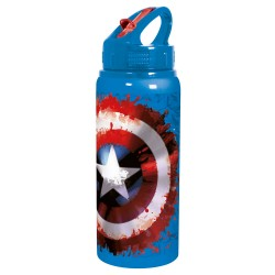 BOTELLA 600ML MARVEL ALUMINIO