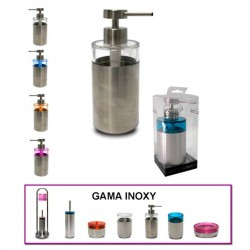 DISPENSADOR DE JABON INOX