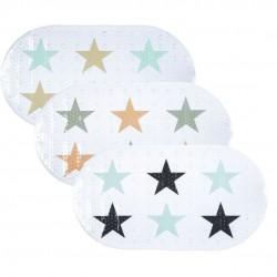 alfombra antideslizante baño estrellas