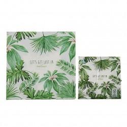 servilletas papel tropical