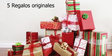CINCO REGALOS ORIGINALES PARA LA NAVIDAD